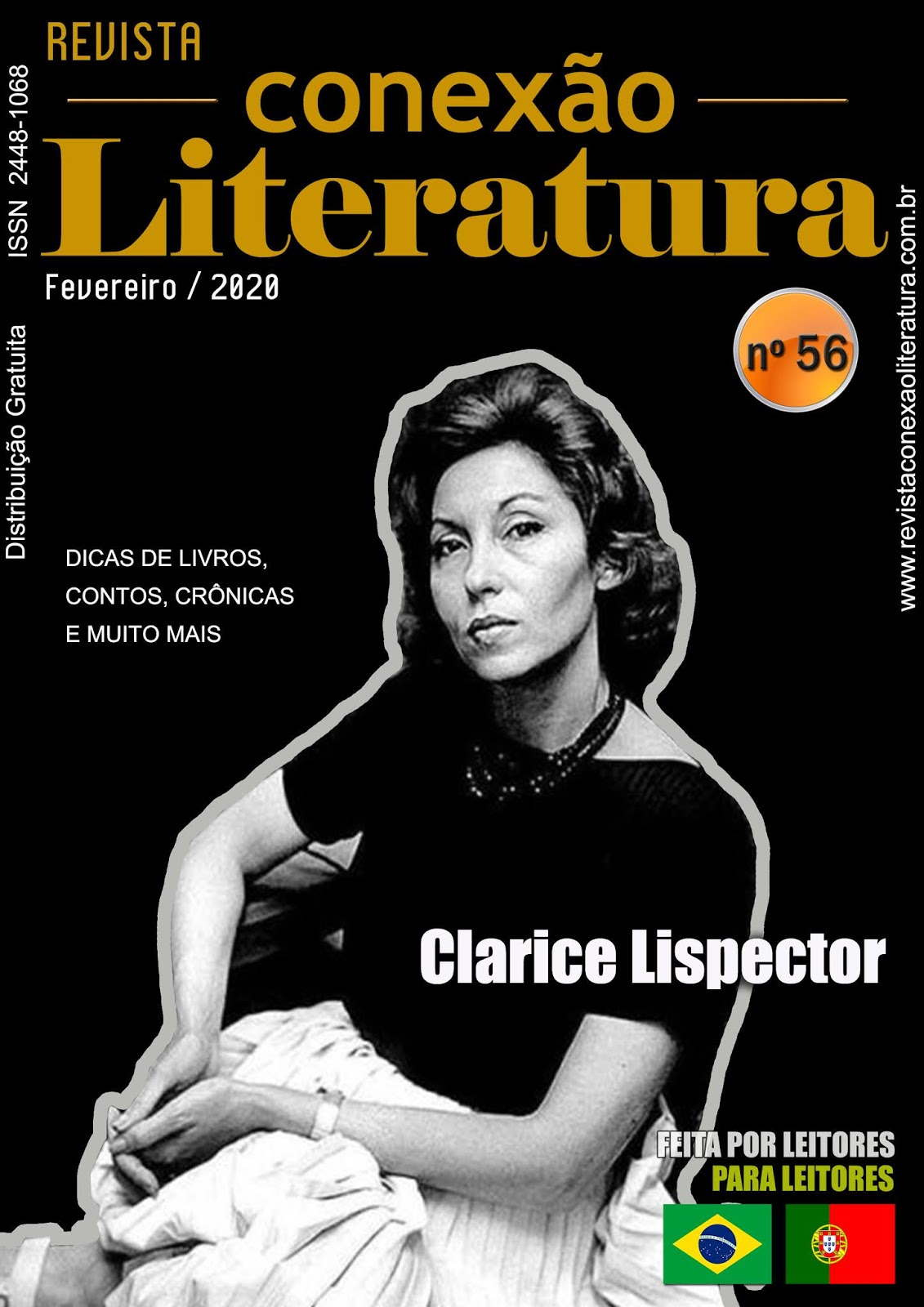 Revista Conexão Literatura - N° 56 Fevereiro/2020 - Livreando